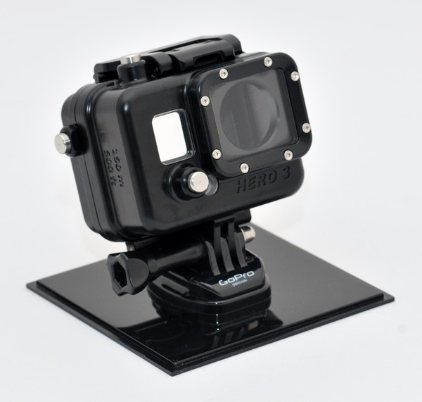 GoPro HERO 3 camera housing 150m LCD