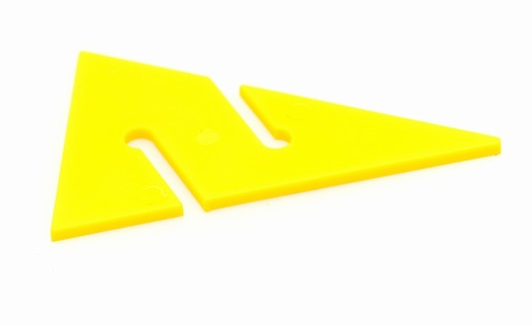 DUX Cave Arrow YELLOW Large - 10pcs