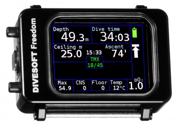 DIVESOFT FREEDOM Advanced Nitrox