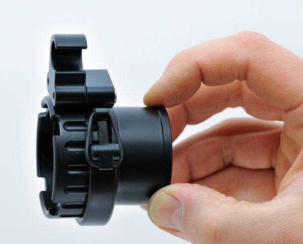 JJ/Shearwater HUD holder for Shrimp BOV | DIR-SHOP diving systems