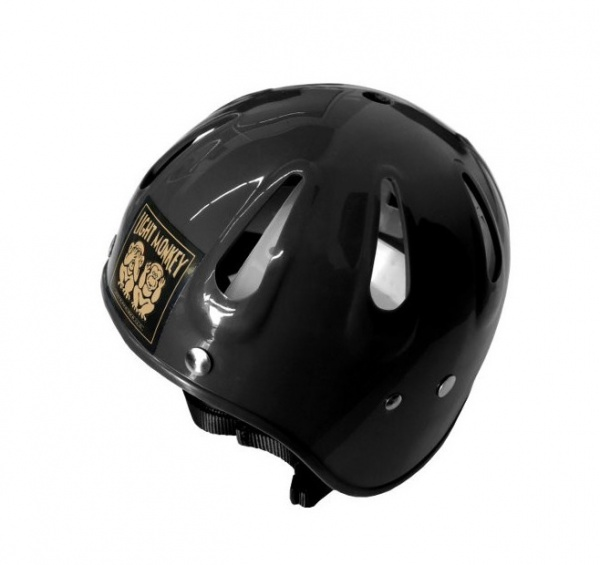 Light Monkey Helmet - BLACK