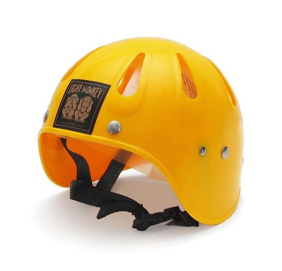 Light Monkey Helmet - YELLOW