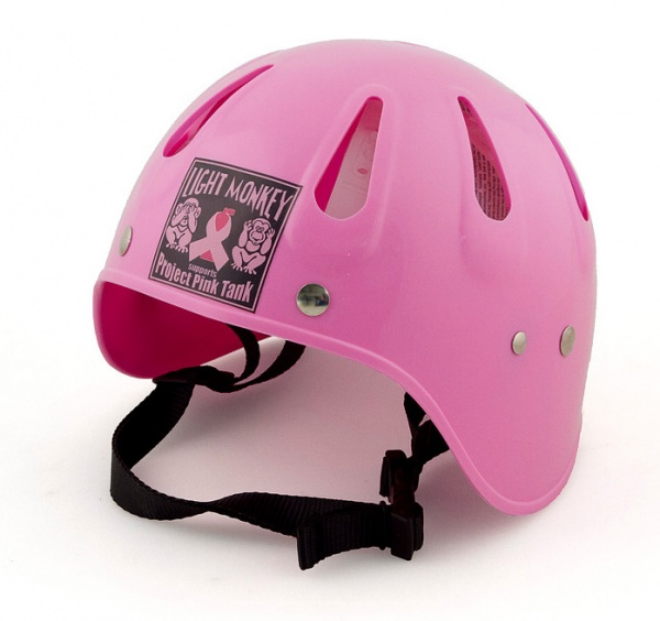 Light Monkey Helmet - PINK