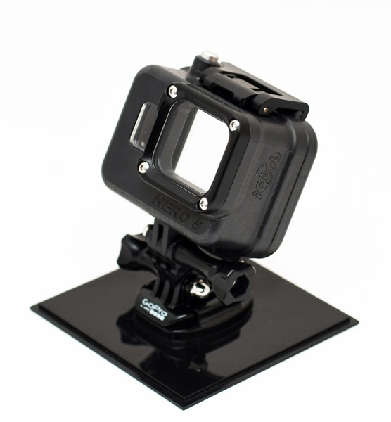 GoPro HERO7, HERO6 and HERO5  camera housing ALU 300m LCD