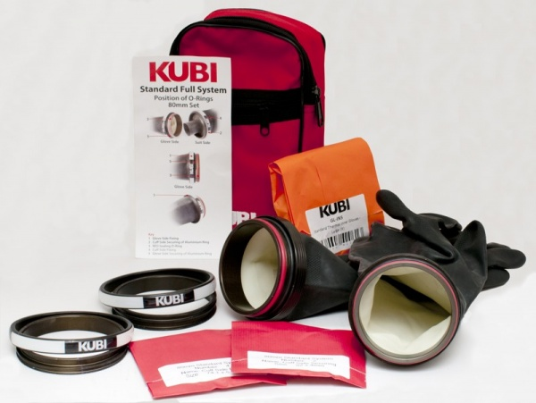 KUBI dry glove set 90mm