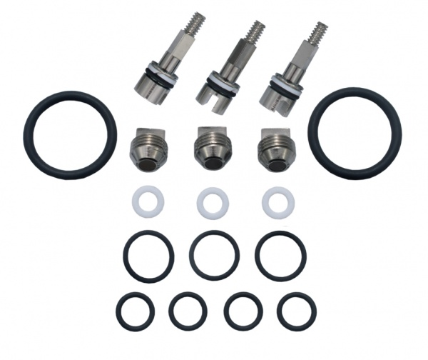 Service kit for complete manifold
