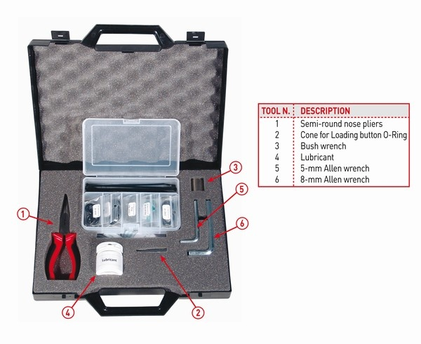 DUX Maintenance Kit for Inflator