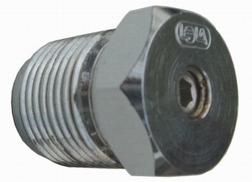LOLA Blind-End Plug 300Bar with Pressure Release Screw