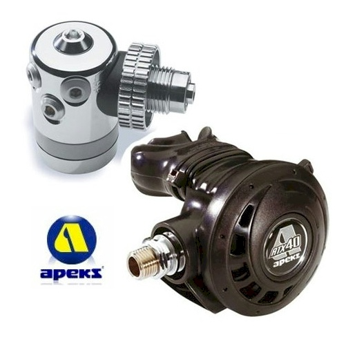 DIR Style Apeks Regulators Kit for Double Tanks ATX40